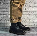 Зимние мужские ботинки Dr.Martens мартинс черные на меху теплые 41-44р. Живое фото. Реплика, фото 9