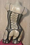Сексуальна Боді сітка Боди-сетка комбинезон Бодистокинг Сексуальное белье, фото 6