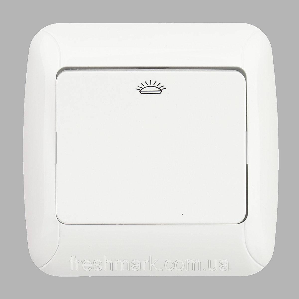 Кнопка контроля освещения GUNSAN Fantasy Белая