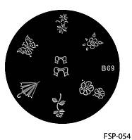 Форма для штампа Lady Victory LDV В69/FSP-054 /44-0