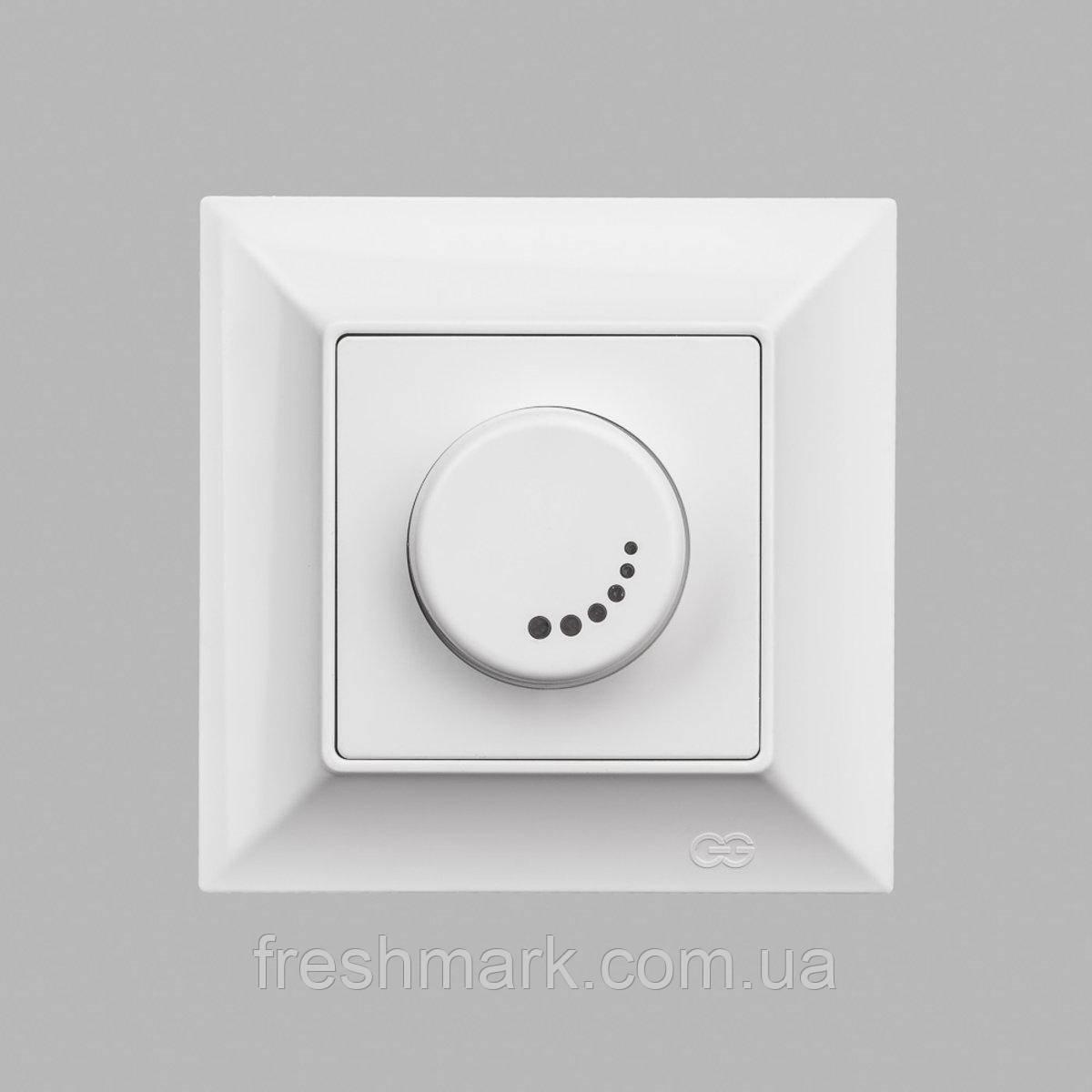 Светорегулятор GUNSAN Neoline 1000Вт с подстветкой Белый