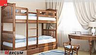Двухъярусная кровать трансформер Максим