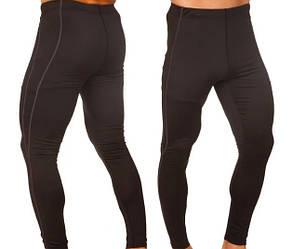 Мужские компрессионные штаны черные