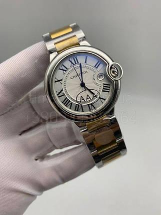 Женские наручные часы Картье Баллон Блю дэ Картье 33 мм Люкс копия, фото 2