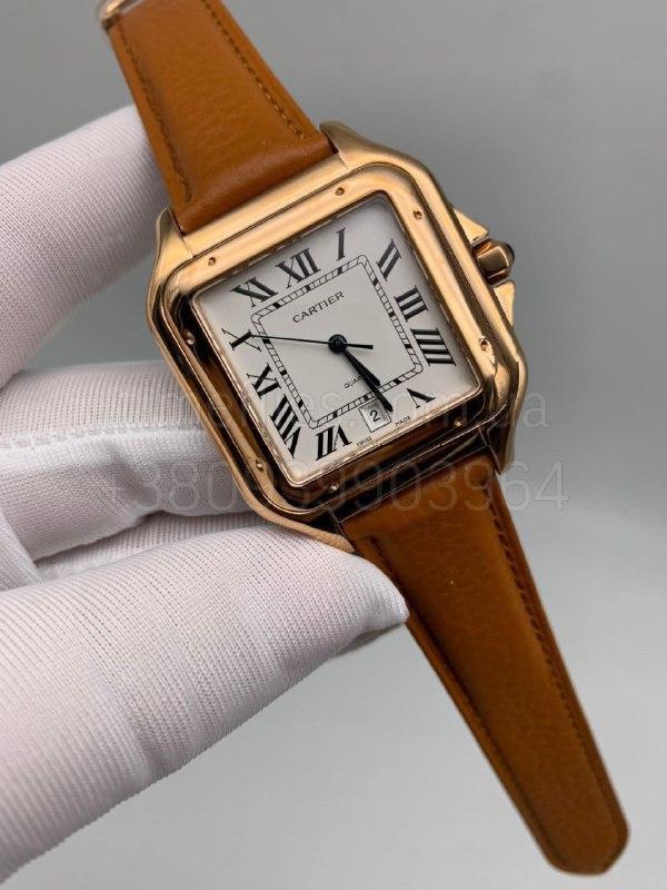 Наручные часы Картье Сантос дэ Картье Люкс копия