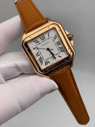Наручные часы Картье Сантос дэ Картье Люкс копия, фото 2