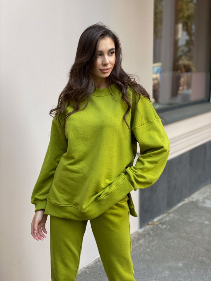 Женский костюм реглан Dizzy зеленого цвета демисезонн