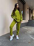 Женский костюм реглан Dizzy зеленого цвета демисезонн, фото 2