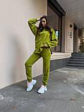 Женский костюм реглан Dizzy зеленого цвета демисезонн, фото 3