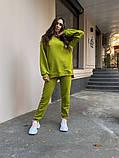 Женский костюм реглан Dizzy зеленого цвета демисезонн, фото 5