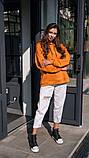 Кофта кенгуру женская Dizzy горчичная худи оранжевая, фото 7