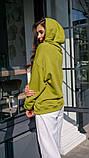 Кофта кенгуру жіноча Dizzy зеленого кольору грін худі, фото 6