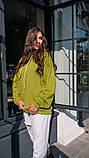 Кофта кенгуру жіноча Dizzy зеленого кольору грін худі, фото 7