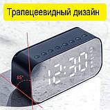 Настольные электронные часы с Bluetooth колонкой и FM радио., фото 6
