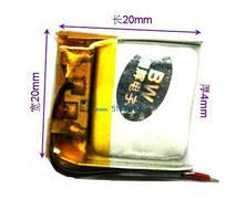 Аккумулятор литий-полимерный 402020P(042020) 3.7V 200mAh
