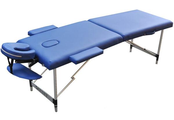 Массажный стол ZENET ZET-1044/S blue 2-х секционная