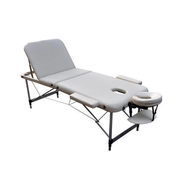 Массажный стол ZENET ZET-1044/M cream 2-х секционная
