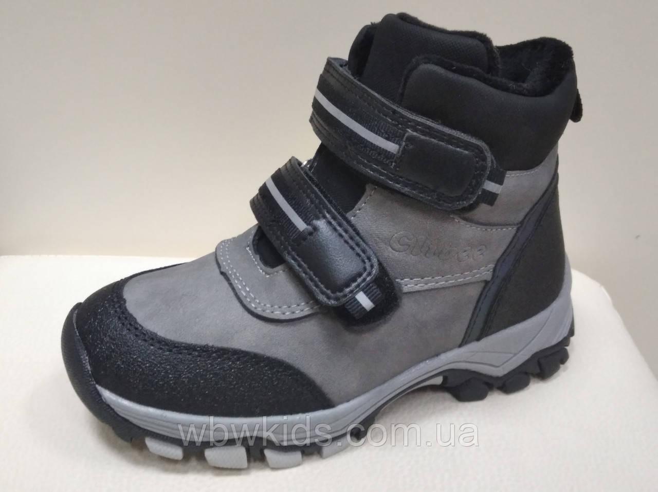 Зимние ботинки детские Clibee H-254 для мальчика (28,31р.)