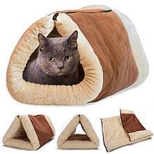 Дом лежанка для собак и кошек Kitty Shack коврик для животных