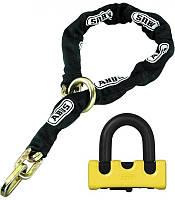 Замок із ланцюгом ABUS 67/12KS120 Granit Power XS Loop Chain Yellow