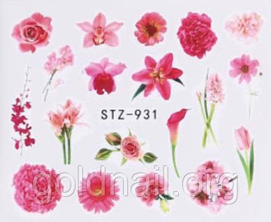 Слайдер водний для дизайну нігтів STZ - 931