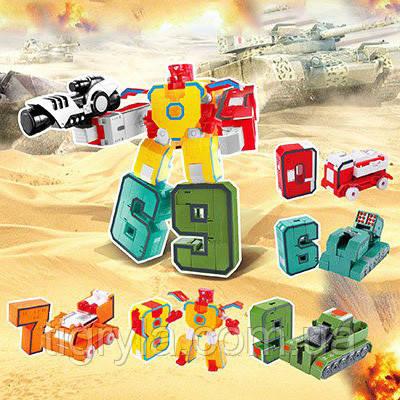 Цифры трансформеры набор Сухопутный воин, фото 2