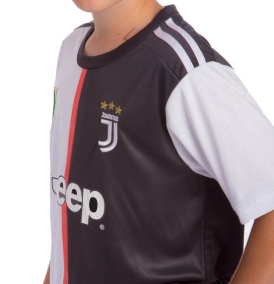 Форма футбольная детская JUVENTUS домашняя 2020 co0959 рост: 140-145
