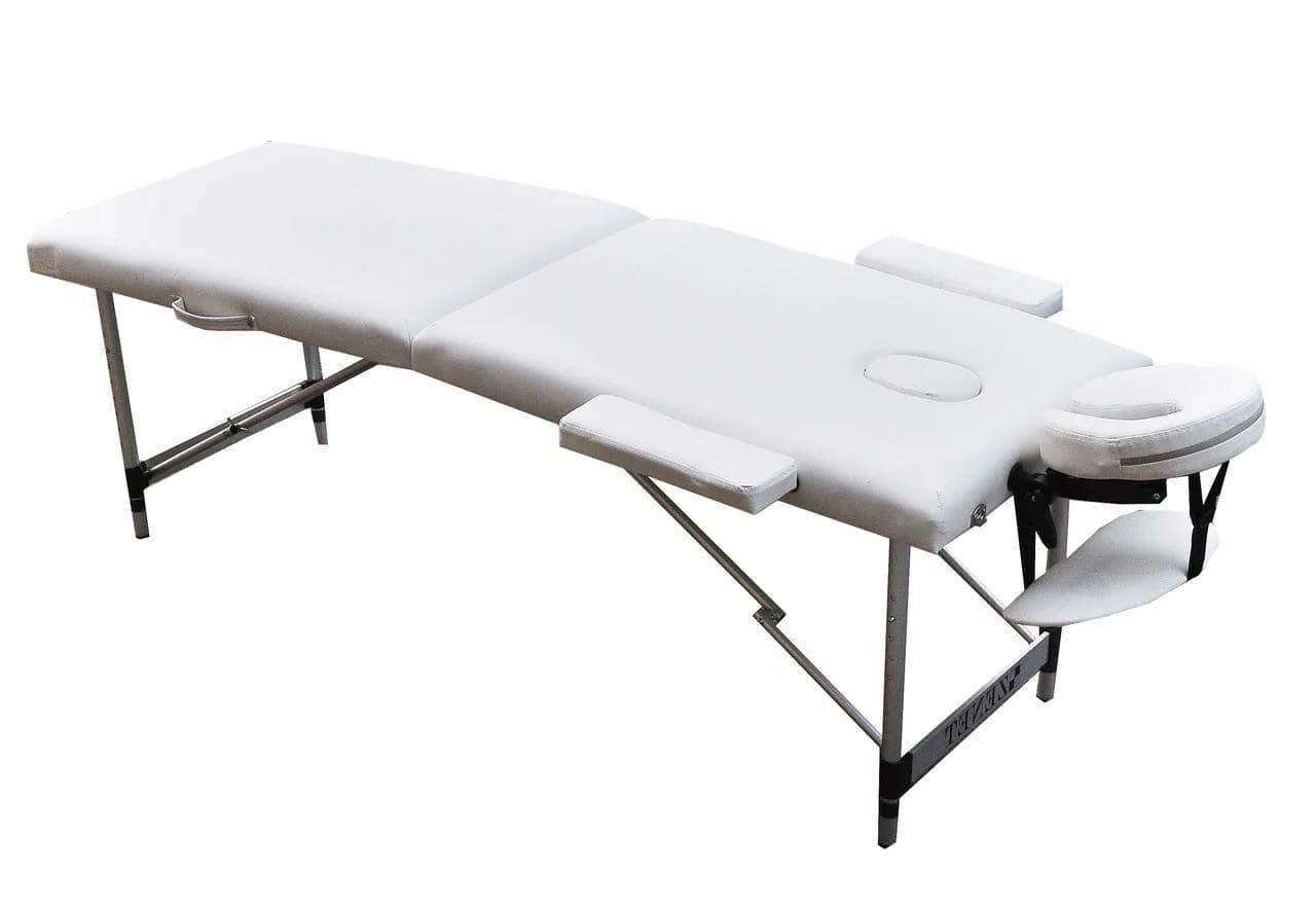 Массажный стол ZENET ZET-1044/L white 2-х секционная
