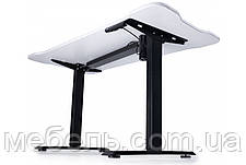 Регулируемый геймерский стол Barsky StandUp Memory electric 1 motor white 1350*670 BSU_el-03, фото 2