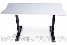 Регулируемый геймерский стол Barsky StandUp Memory electric 1 motor white 1350*670 BSU_el-03, фото 3