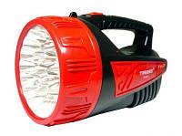 Мощный светодиодный фонарь Tiross TS-682 аккумуляторный | прожектор, фонарик, лед ліхтар (Гарантия 12 мес)