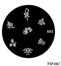 Форма для штампа Lady Victory LDV В82/FSP-067 /44-0