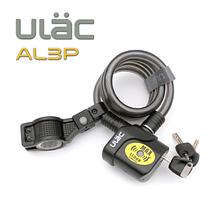 Замок велосипедний тросовий з сигналізацією Ulac AL-3P