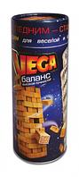 Настольная игра Jenga Вега Баланс Danko toys | настільна гра Дженга Башня, игры для детей (Гарантия 12 мес)