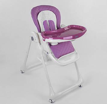 Стульчик для кормления Устойчивый стульчик для прикорма для ребенка от 6 мес