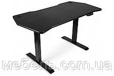 Регулируемый геймерский стол Barsky StandUp Memory electric black carbon 1350*670 BSU_el-04, фото 3