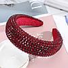 Обруч для волос в камнях и серьги , набор украшений, модные аксессуары, фото 4