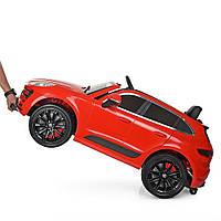 Детский электромобиль M 4009EBLR-3 Porsche Cayenne,красный(2 мотора,колеса EVA)
