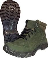 Ботинки демисезонные тактические из натуральной кожи подошва Energy зеленые № 2