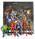 Набор герои Марвел персонажи супергероев Мстители , фото 2