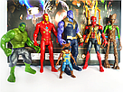 Набор герои Марвел персонажи супергероев Мстители , фото 3