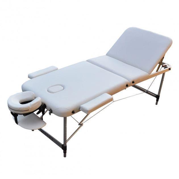 Массажный стол ZENET ZET-1049/M white 3-х секционная
