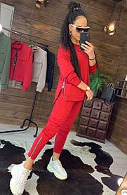Костюм женский, кофта на змейке и штаны, размеры 42-44-46-48