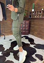 Костюм женский, кофта на змейке и штаны, размеры 42-44-46-48, фото 3