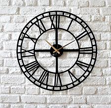 Настенные часы из металла дизайнерские