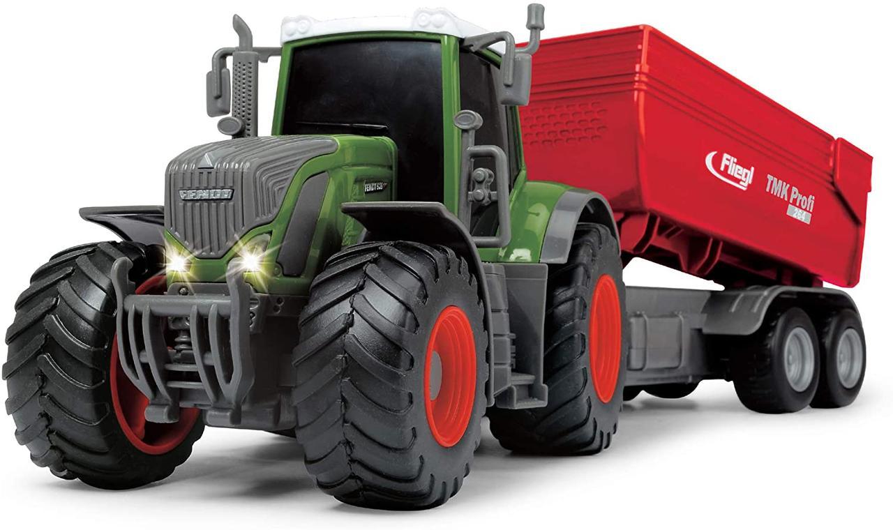 Трактор Фендт 939 Варио со звуковыми и световыми эффектами, 41 см, Dickie Toys 3737002