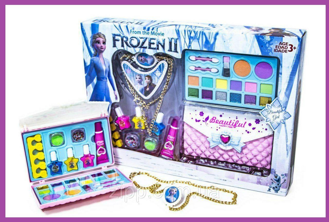 Набор детской косметики  с сумочкой Frozen-2| Набор детской косметики  Frozen-2|  Детская косметика