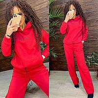 Повседневный костюм женский с укороченной кофтой и штанами клеш (р. 42-46) 44mko1516, фото 1