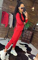 Костюм женский, кофта на змейке и штаны, размеры 42-44-46-48, фото 2