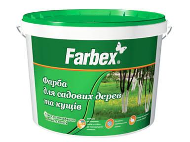 """Краска для садовых деревьев """"Farbex"""", 14 кг"""
